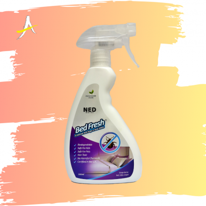 NED Markt Bed Fresh Eradicate Bed Bugs & Dust Mites 500ml