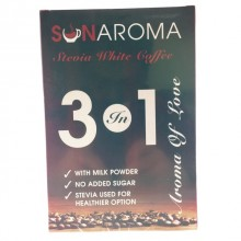 SUNAROMA 3 IN 1 COFFEE 15 X 30GM (WITH STEVIA)