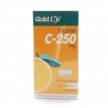 GOLD LIFE VITAMIN C 250MG 110'S