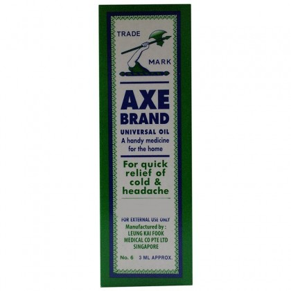 Axe Brand Medicated Oil No. 6 3ml