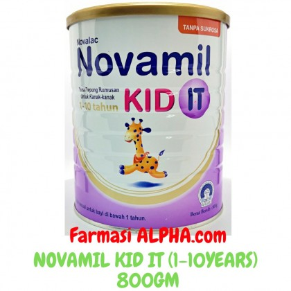 Novamil Kid IT 800g 1 - 10years For Constipation (Formerly Novalac It Grow