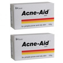 ACNE-AID BAR 100GM X 2BARS