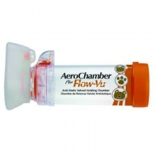 AEROCHAMBER PLUS FLOW WU (ORANGE) [SMALL MASK 0-18MONTHS]