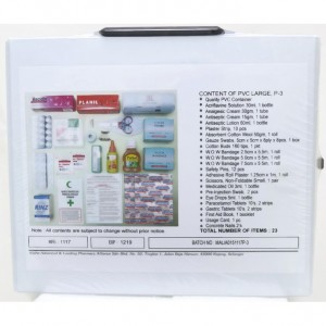 ALPHA FIRST AID BOX (P3) COMPLETE SET