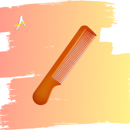 Small Cute Comb / Pointy End Comb / Small Brown Comb