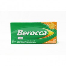 BEROCCA ORANGE FLAVOUR EFFERVESCENT 30'S
