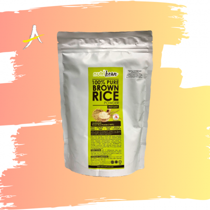 Nutribran 100% Pure Brown Rice Instant Powder 300g