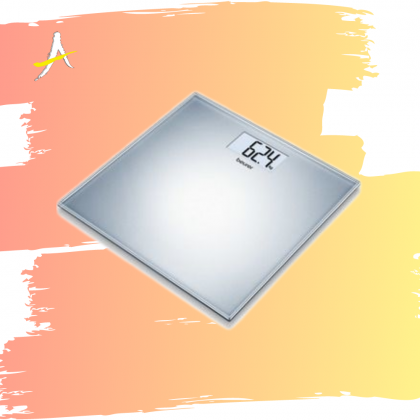 Beurer GS 202 Glass Bathroom Scale (Up to 150kg)