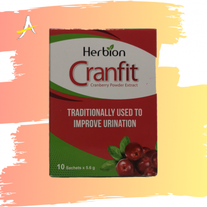 Herbion Cranfit Cranberry Powder Extract 10x5.8g