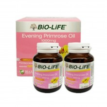 BIO-LIFE EVENING PRIMROSE OIL 1000MG 2 X 30'S