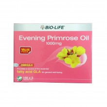 BIO-LIFE EVENING PRIMROSE OIL 1000MG 3 X 100'S