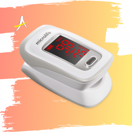 [2 Year Guarantee] Microlife OXY 200 Fingertip Pulse Oximeter
