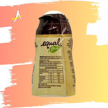 Equal Stevia Concentrated Liquid Sweetener 160 Servings 48ml