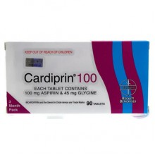 CARDIPRIN 100MG 3CX 30'S