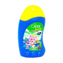 CARRIE JUNIOR BABY BATH WITH FRUITO-E  90G(GRAPEBERRY)