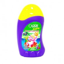 CARRIE JUNIOR BABY HAIR & BODY WASH WITH FRUITO-E 90G(GRAPEBERRY)