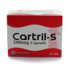 CARTRIL-S 500MG CAPSULE 10X10'S