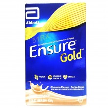 ENSURE GOLD CHOCOLATE 400G(NEW PACKING)