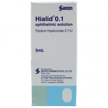 Hialid Opthalmic Solution (Sodium Hyaluronate 0.1%) 5mL