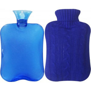HOT WATER BAG 2L WITH COVER(COLOUR & COVER DESIGN MAY VARY)