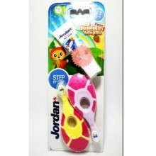 Jordan Step 1 (0-2 Years) Supersoft Toothbrush 2's (Random Colours)