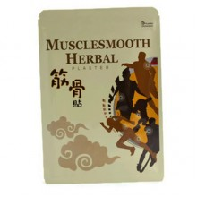 Musclesmooth Herbal Plaster 5's
