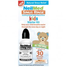 Neilmed Sinus Rinse Kids Starter Kit (1 Squeeze Bottle & 30 Premixed Packets)