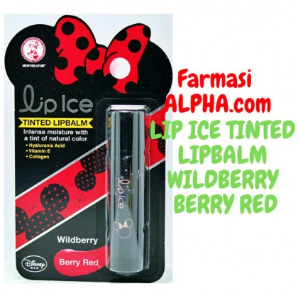 Lipice Tinted Lipbalm Wildberry Berry Red 3.5g