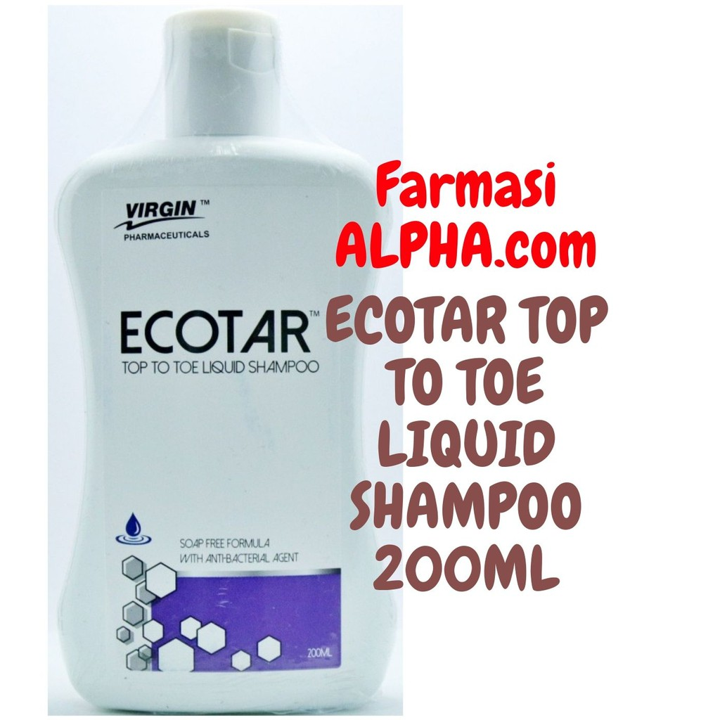Ecotar Top To Toe Liquid Shampoo 200ml